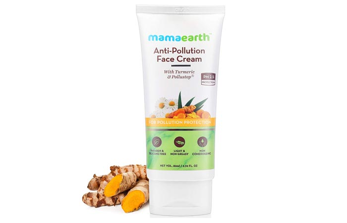 Mamaearth Anti-Pollution Daily Face Cream for Dry Oily Skin