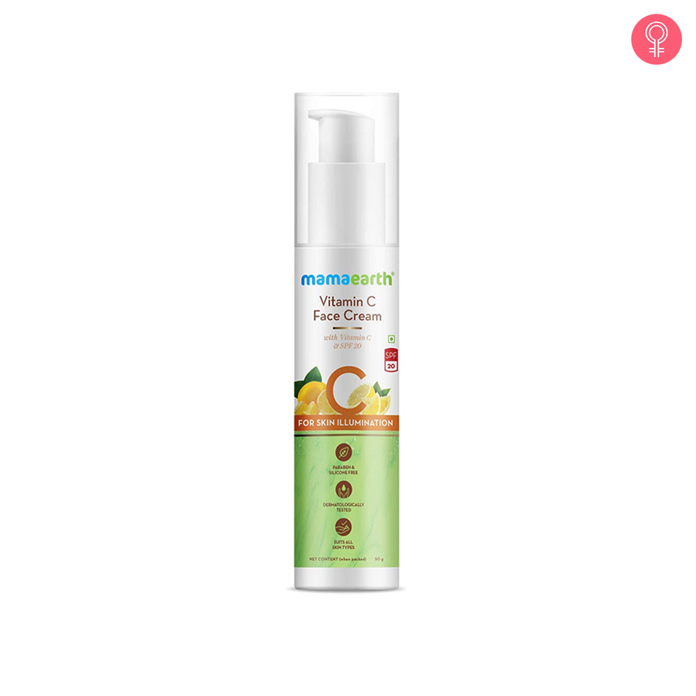 Mamaearth Vitamin C Face Cream