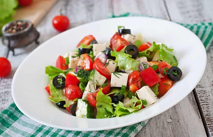 Mediterranian Greek Salad