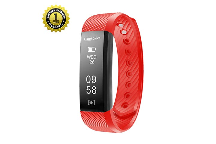 Mevofit Econronics Eco Dash HR Fitness Tracker Band