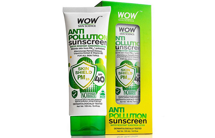 Names of the best sunscreens for oily skin