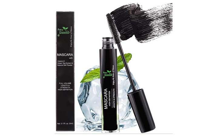 Petra Organics Waterproof Mascara - Black