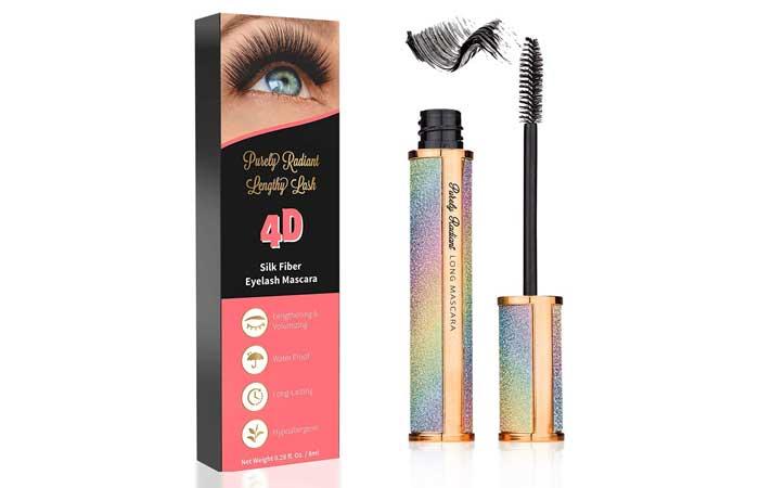 Purely Radiant Lengthy Lash 4D Silk Fiber Lash Mascara