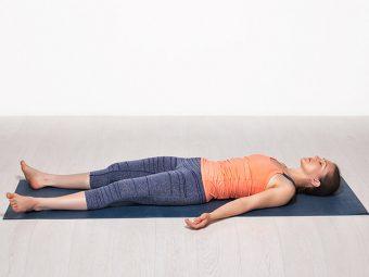 Shavasana (Corpse Pose) Steps And Benefits in Hindi