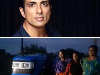 Sonu Sood Gifts Farmer A Tractor After A Video Of His Daughters Pulling A Plow Goes Viral