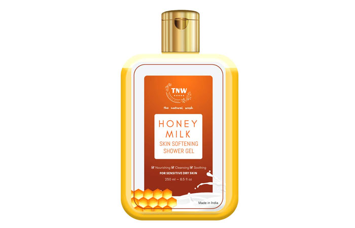 TNW - The Natural Wash Honey Milk Skin Softening Shower Gel Body Wash