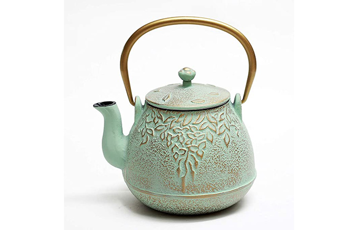 TOPTIER Japanese Cast Iron Teapot