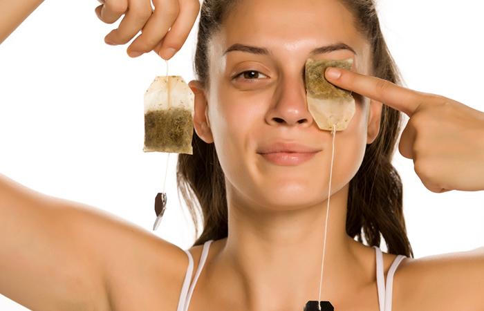 Tea bags that fix the cervix