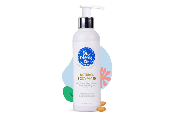 To the moms Natural body wash