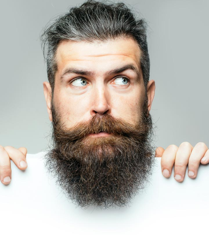 Worried About Gray Hair? Give Yourself A Makeover With This Beard And Hair Color