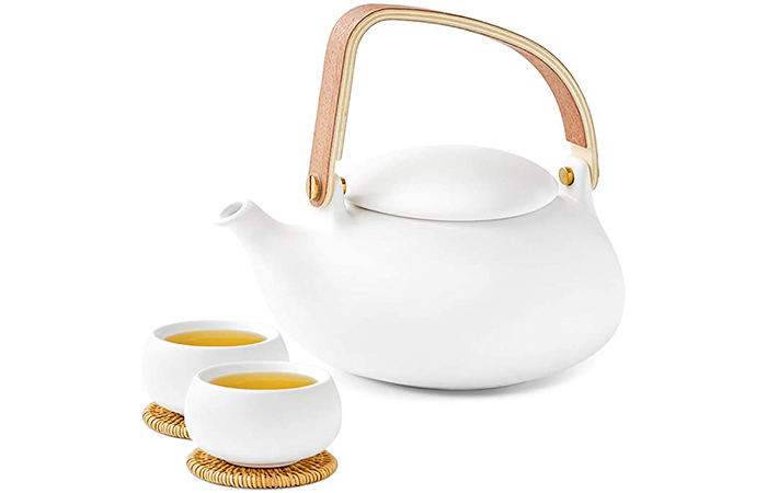 ZENS Ceramic Teapot Set
