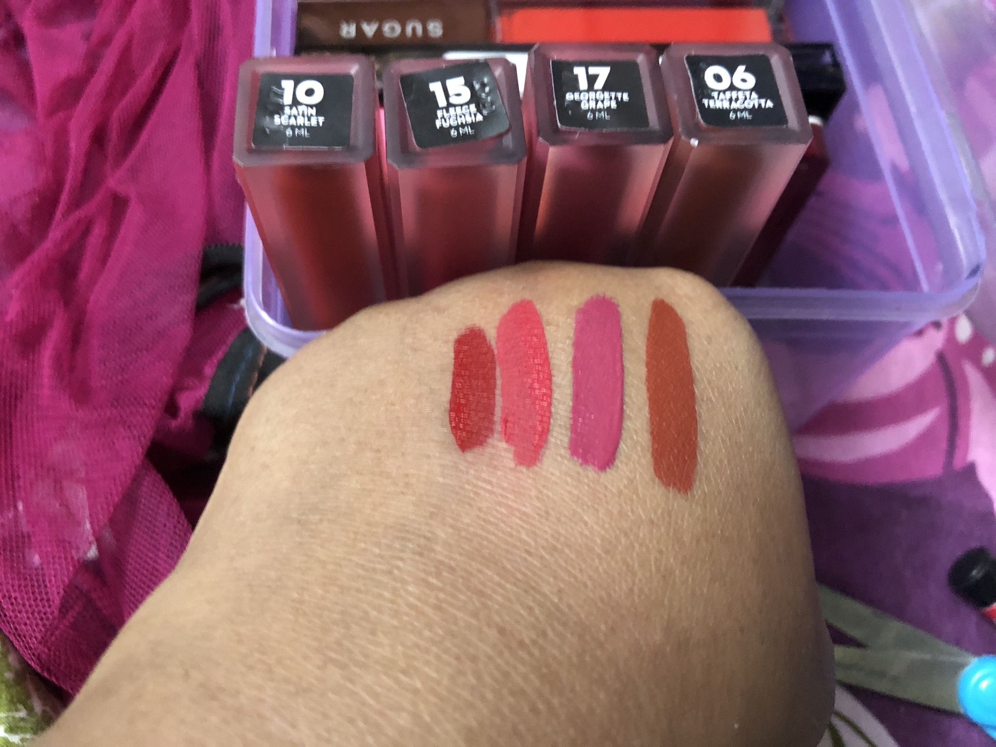 SUGAR Cosmetics Suede Secret Matte Lipcolour-Non-drying formula-By binatatrisha
