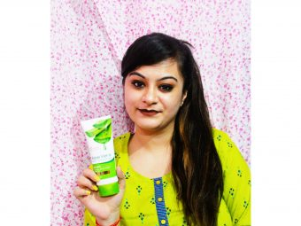 Oriental Botanics Aloe Vera, Green Tea & Cucumber Face Mask -Best Face Mask I have ever used-By reviewsbydipali