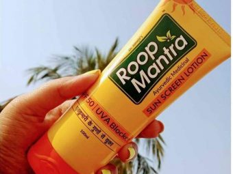 Roop Mantra Sunscreen Lotion pic 2-Affordable Sunscreen Lotion-By sonamprasad66