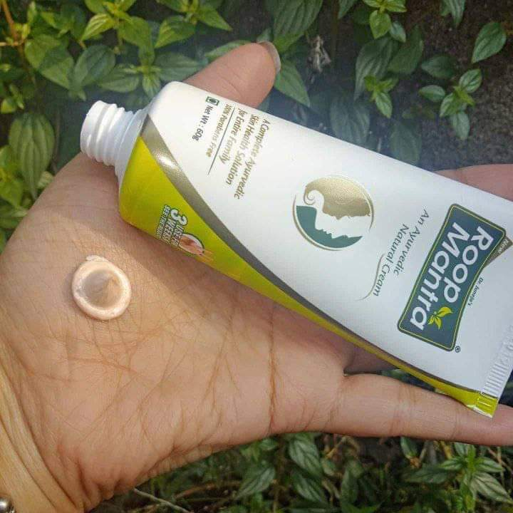 Roop Mantra Ayurvedic Medicinal Face Cream pic 1-Good and Affordable cream-By sonamprasad66