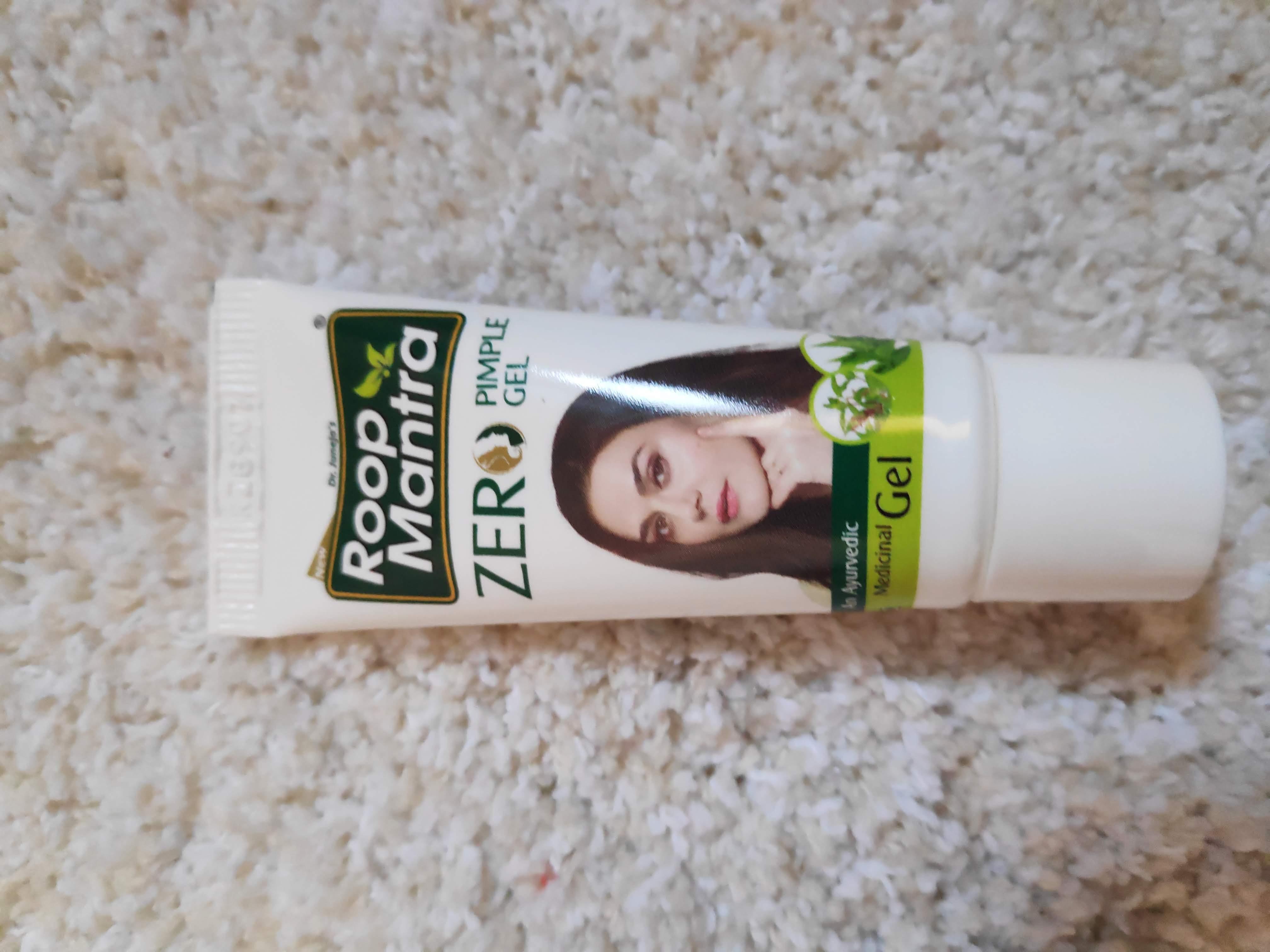 Roop Mantra Zero Pimple Gel-Perfect for pimple skin-By littleboymamma
