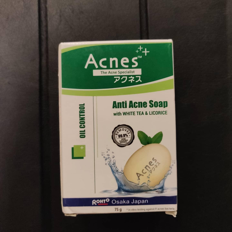 Acnes Oil Control Soap -Nice soap-By chaé_live