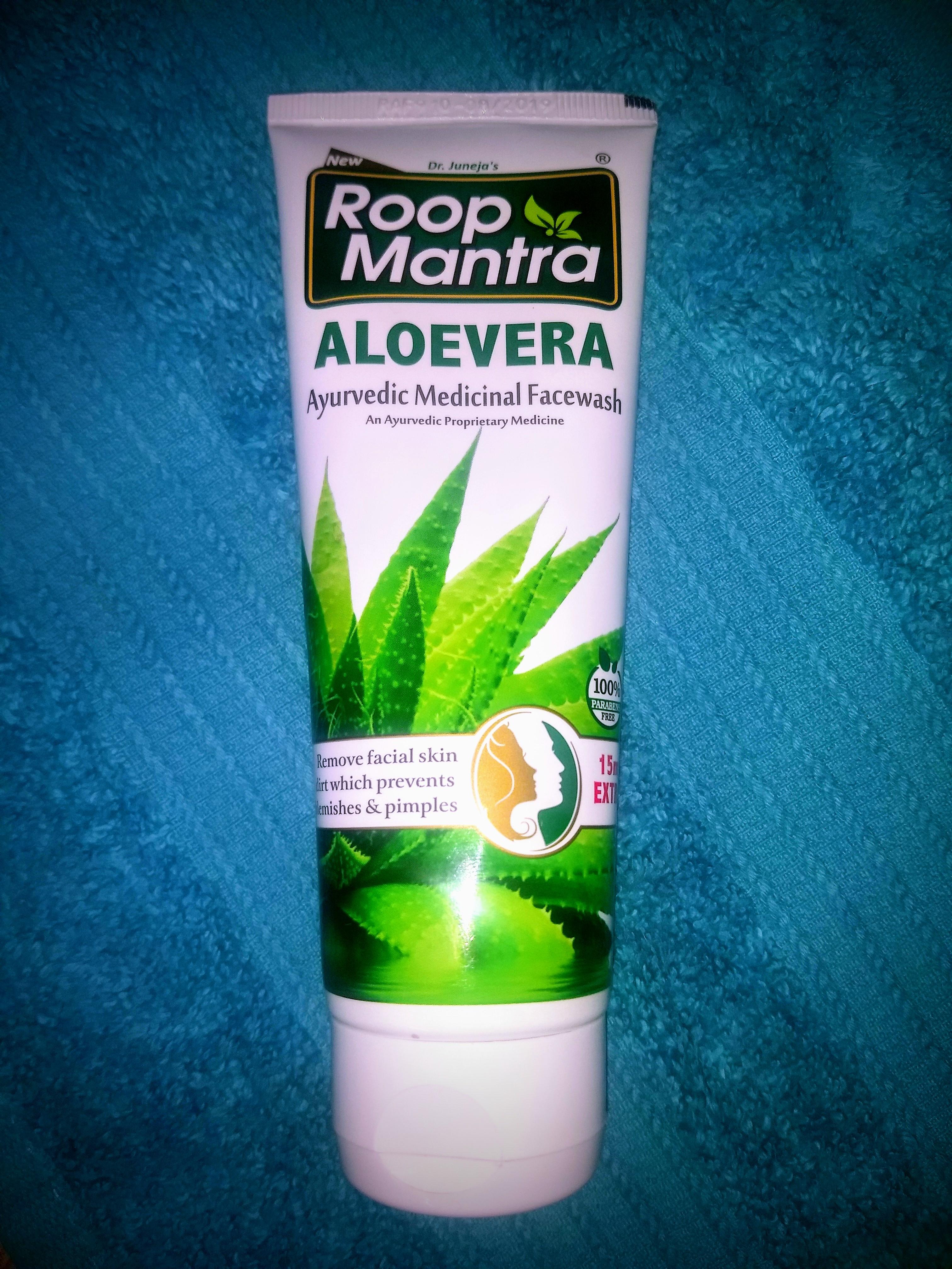 Roop Mantra Aloe Vera Face Wash-Best facewash for oily skin-By mayanka