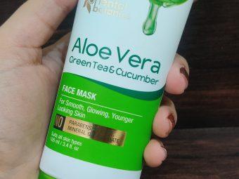 Oriental Botanics Aloe Vera, Green Tea & Cucumber Face Mask pic 3-Mind-blowing!!!-By glitterlife_diksha