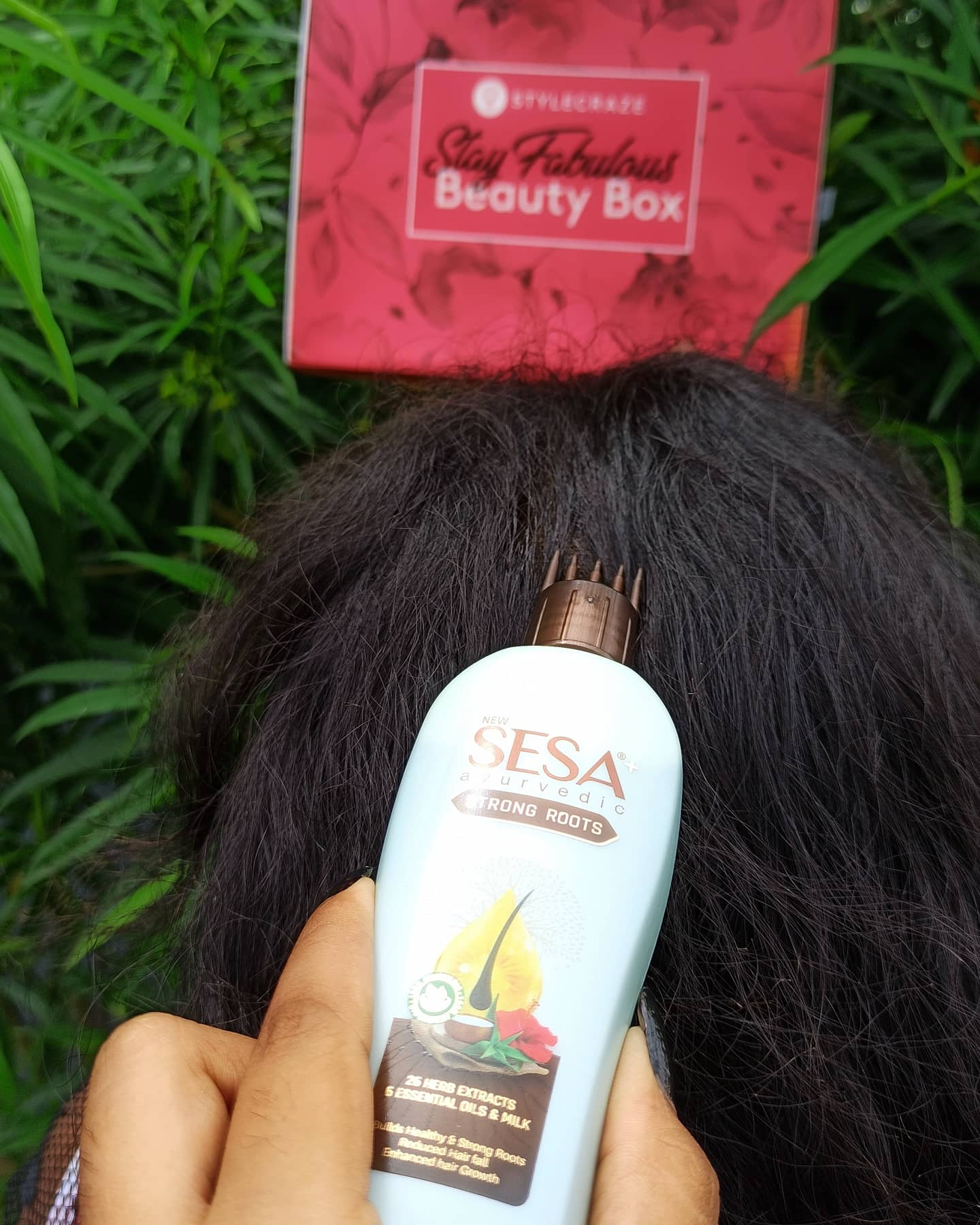 Sesa+ Strong Roots-Love this Hairoil-By bhavya_ramesh
