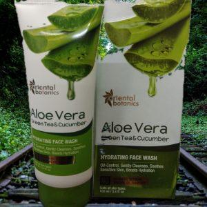 Oriental Botanics Aloe Vera, Green Tea & Cucumber Hydrating Face Wash -Loved this-By kavyaa12