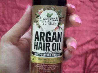 Luxura Sciences Argan Hair Oil 200 ml -Miracle for my frizzy hair-By jashu_mahajan