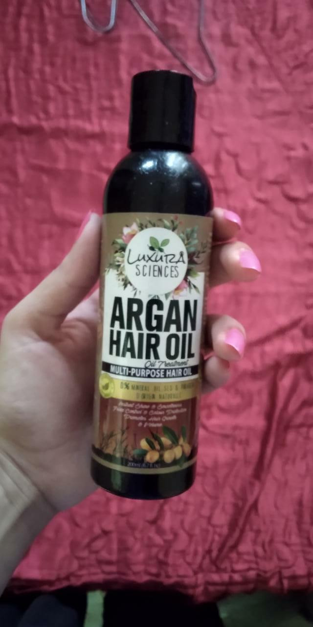 Luxura Sciences Argan Hair Oil 200 ml-Miracle for my frizzy hair-By jashu_mahajan
