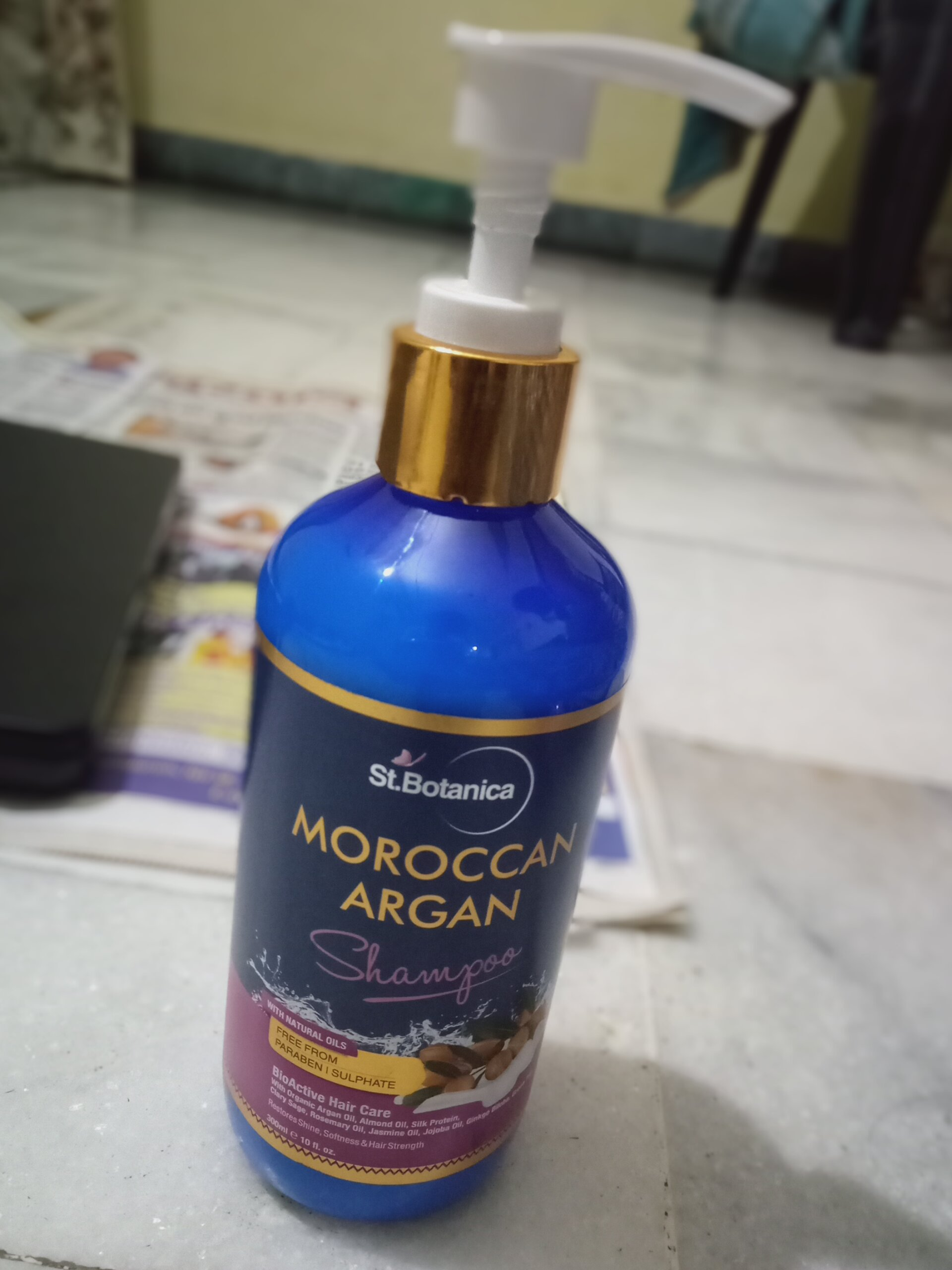 StBotanica Moroccan Argan Hair Shampoo-Really Effective-By aditya_kumar_gupta-3