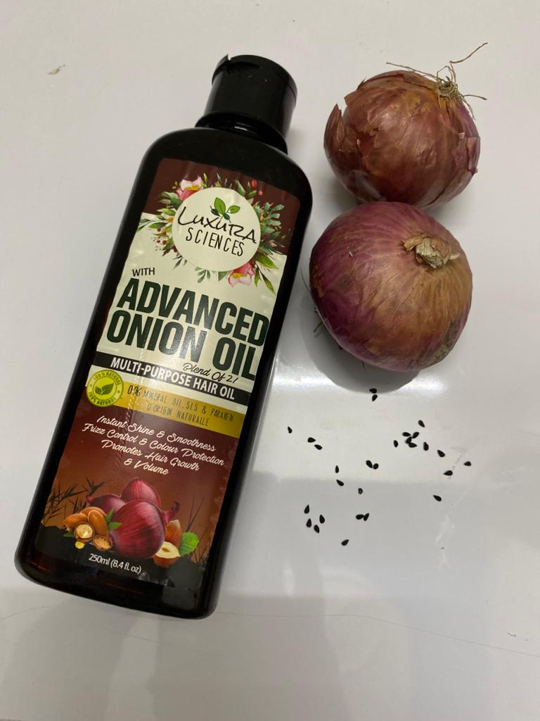Luxura Sciences Advanced Onion Oil 250 ml-Super amazing hair oil-By peeyuusha