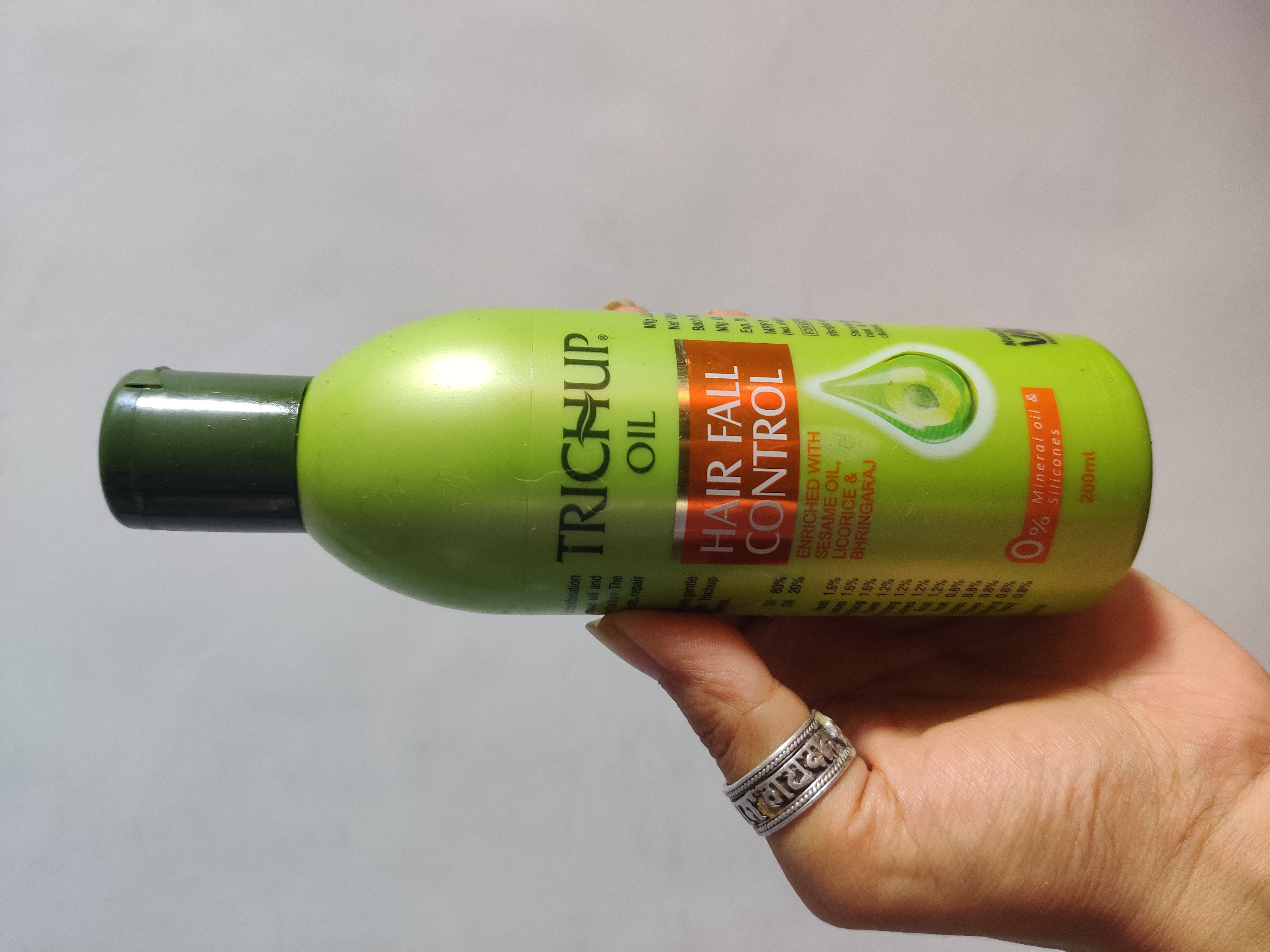 Trichup Hair Fall Control Hair Oil-Good for fighting Hair Fall-By mohana