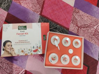 Roop Mantra Fruit Facial Kit -Glow your Skin-By mohana