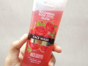 StBotanica Bulgarian Rose Otto Glow Face Wash pic 2-Awesome Facewash-By nidhi_gadkari