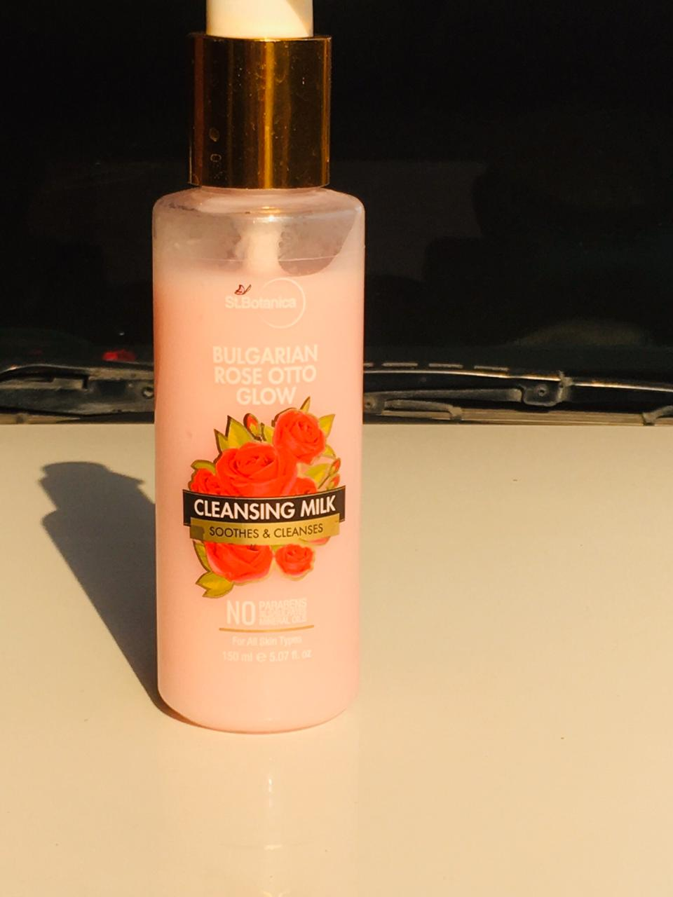 StBotanica Bulgarian Rose Otto Glow Cleansing Milk -Everyday cleanser-By mehak07