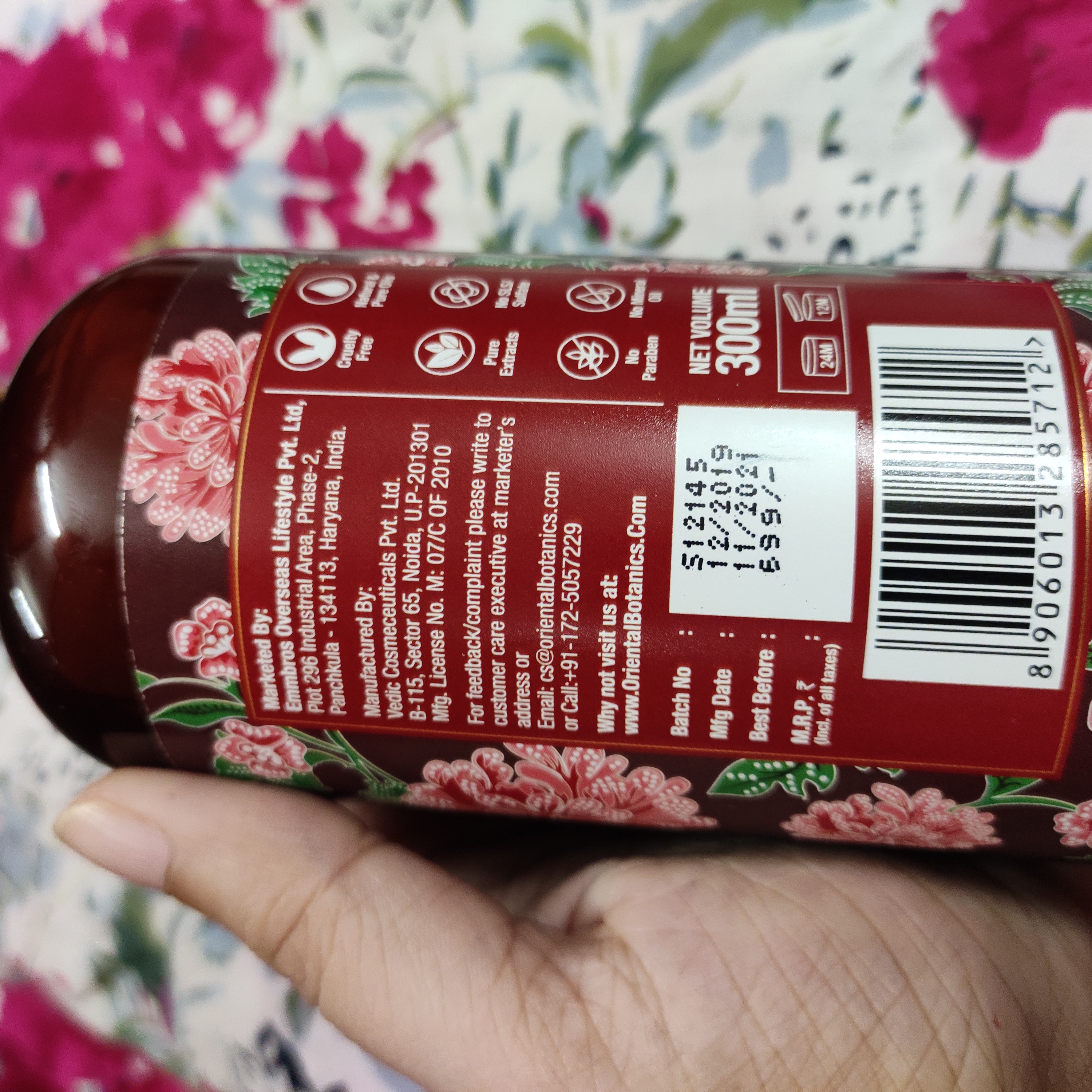 Oriental Botanics Red Onion Hair Conditioner-Perfect for dull hair-By sudeshnabanerjee_-2