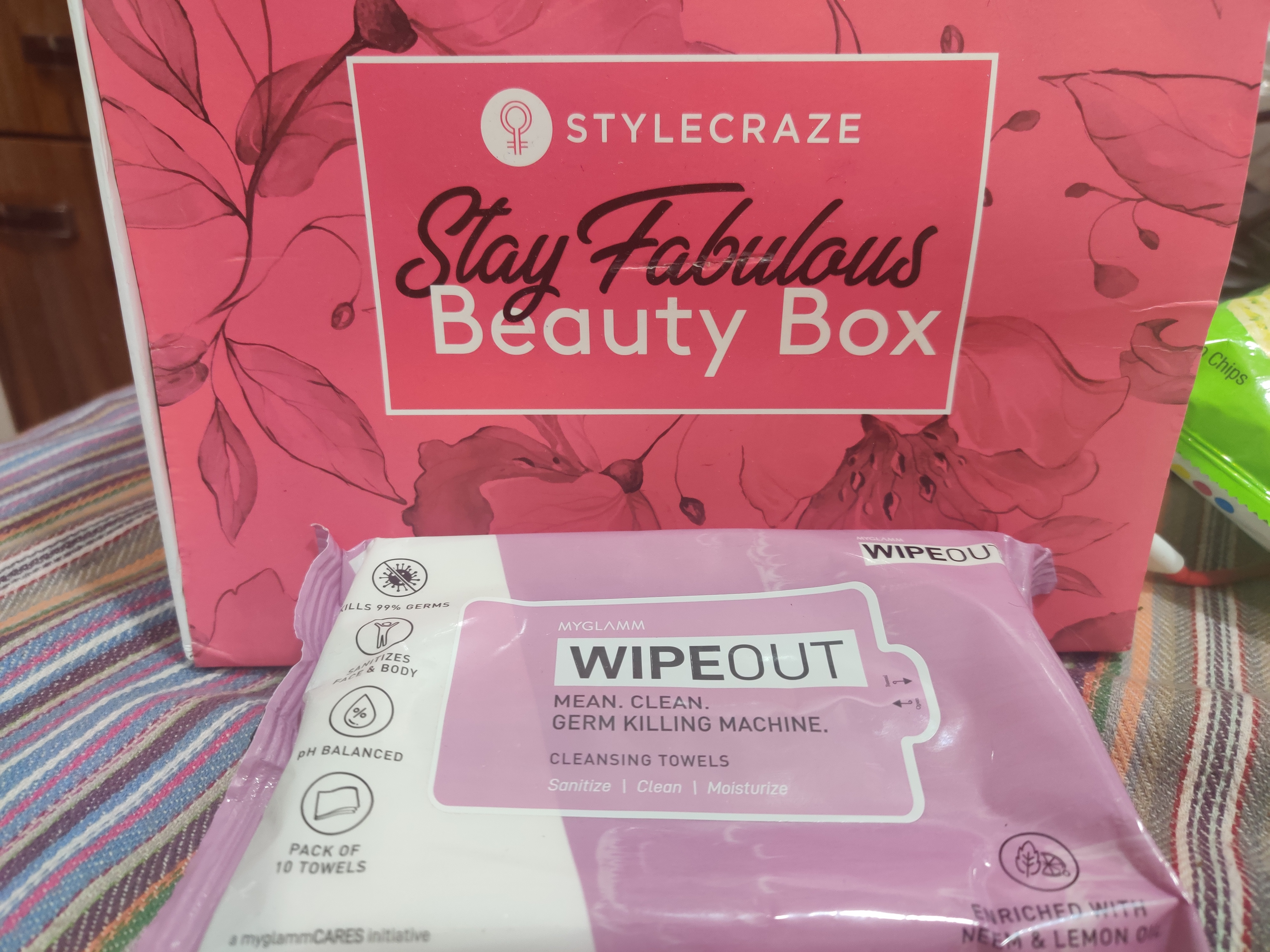 MyGlamm Wipeout Cleansing Towels-Soft Tender and Cremy to use-By sakshi_kohli-2