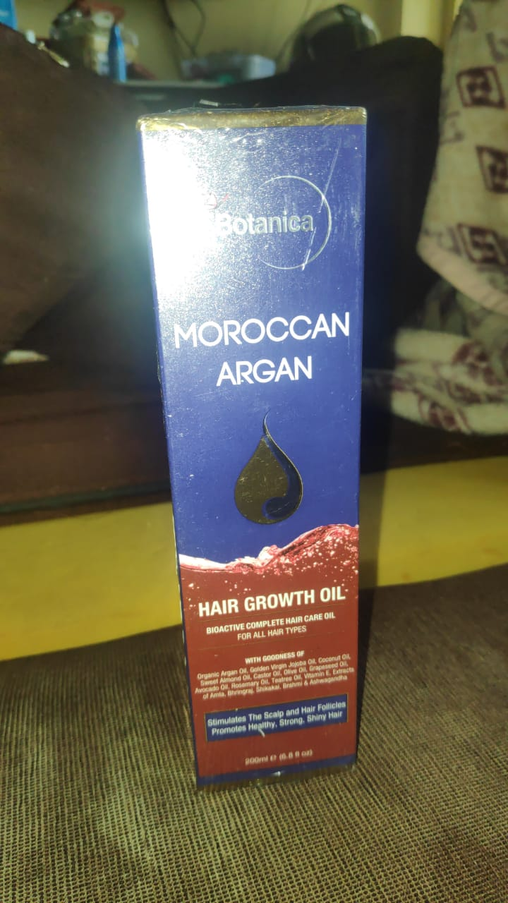 St.Botanica Moroccan Argan Hair Growth Oil-Amazing oil-By erum_khoja