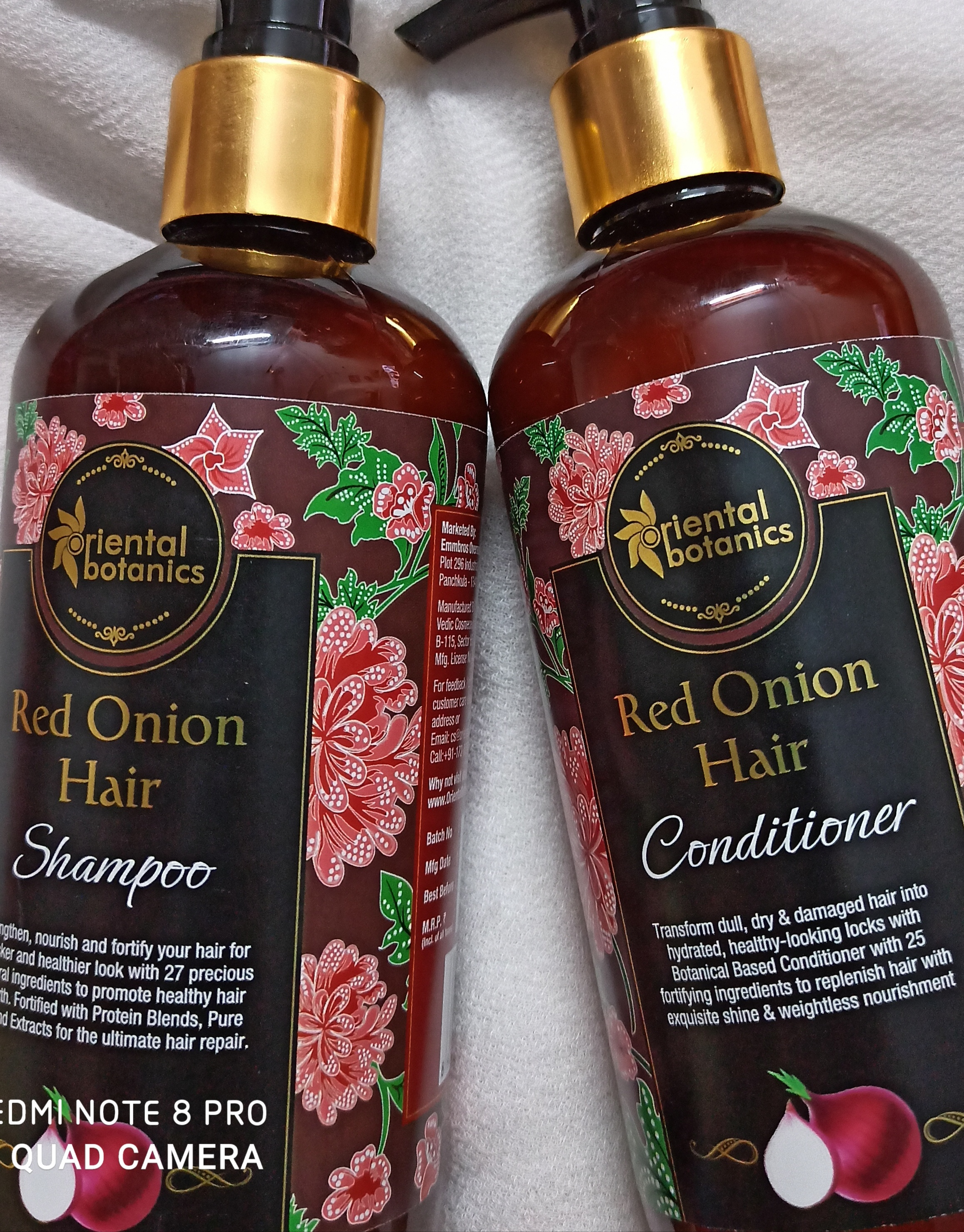 Oriental Botanics Red Onion Hair Shampoo + Conditioner Kit-Must buy products-By payal19