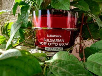 St.Botanica Bulgarian Rose Otto Glow Night Cream -Night food for skin-By meghanka_parihar