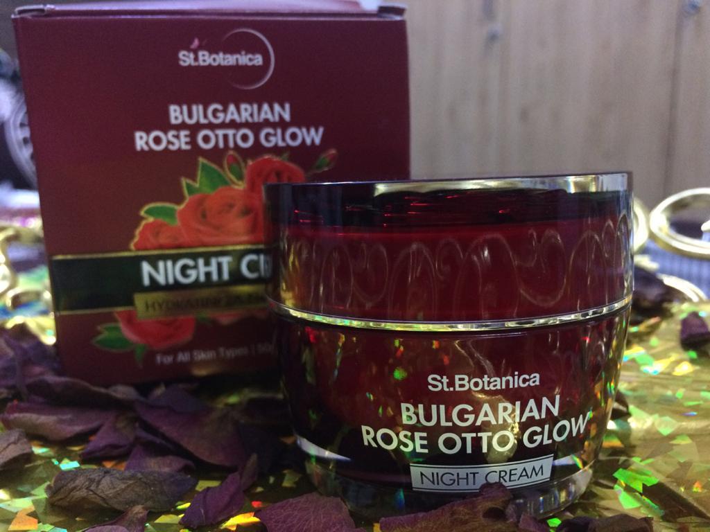 St.Botanica Bulgarian Rose Otto Glow Night Cream -Best Night Cream-By wardha_khan