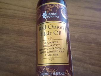 Oriental Botanics Onion Hair Care Combo   Red Onion Hair Shampoo + Red Onion Hair Oil pic 1-amazing results-By chhotavirus