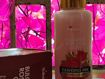 StBotanica Bulgarian Rose Otto Glow Cleansing Milk pic 1-AMAZING CLEANSING MILK-By nishadhameja