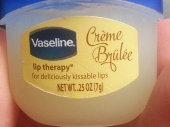 Vaseline Lip Therapy Creme Brulee -Smooth-By _.undiscovered