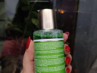 Oriental Botanics Aloe Vera, Green Tea & Cucumber Micellar Water pic 1-It is veey gentle on skin, nice fragrance-By kitchenjungle3