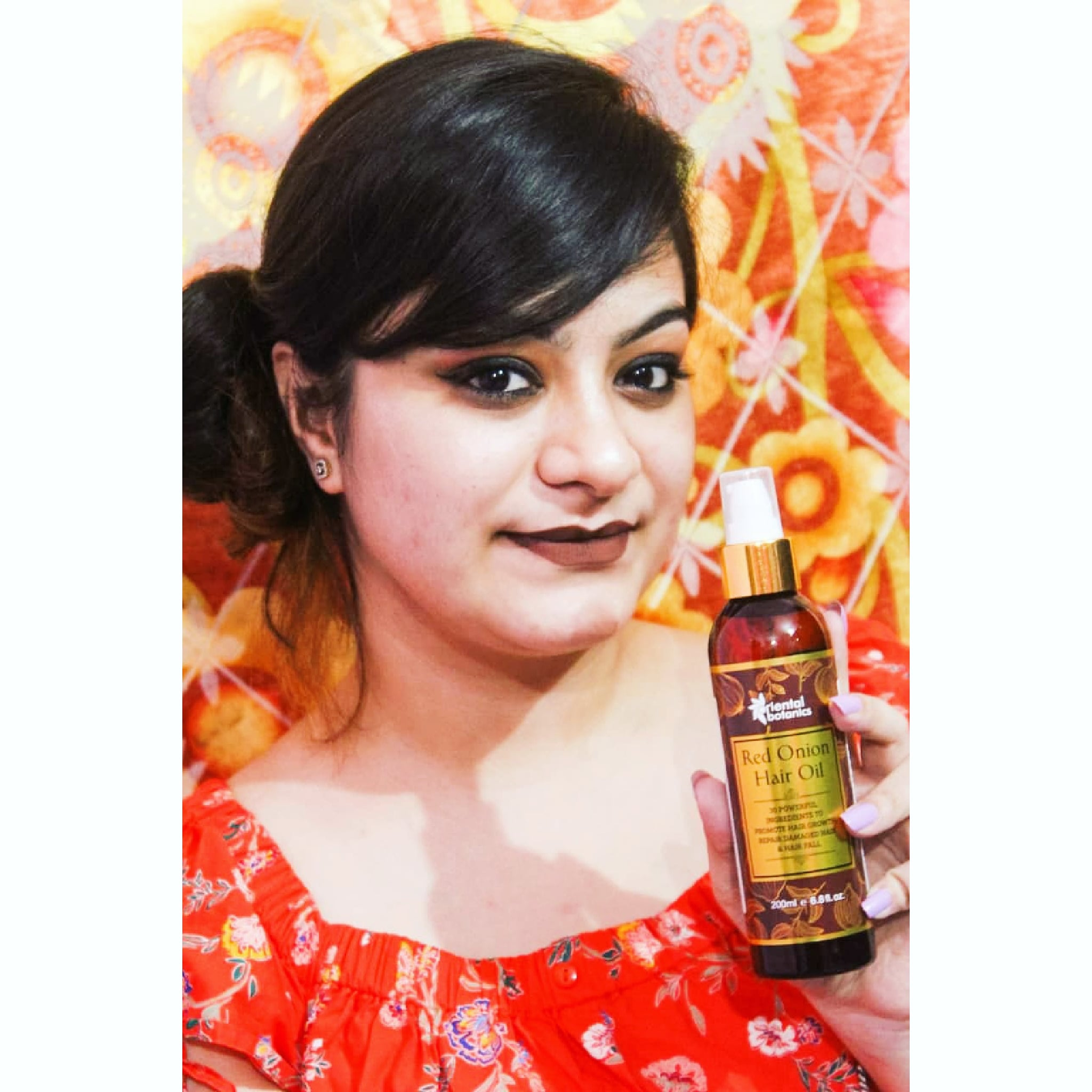 Oriental Botanics Red Onion Hair Shampoo Conditioner Oil Mask-Amazing Haircare Range-By reviewsbydipali-3