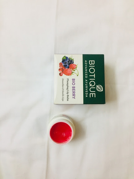 Biotique Bio Berry Plumping Lip Balm Smoothes & Swells Lips-Berry Effective ;)-By tanyaofficial-1