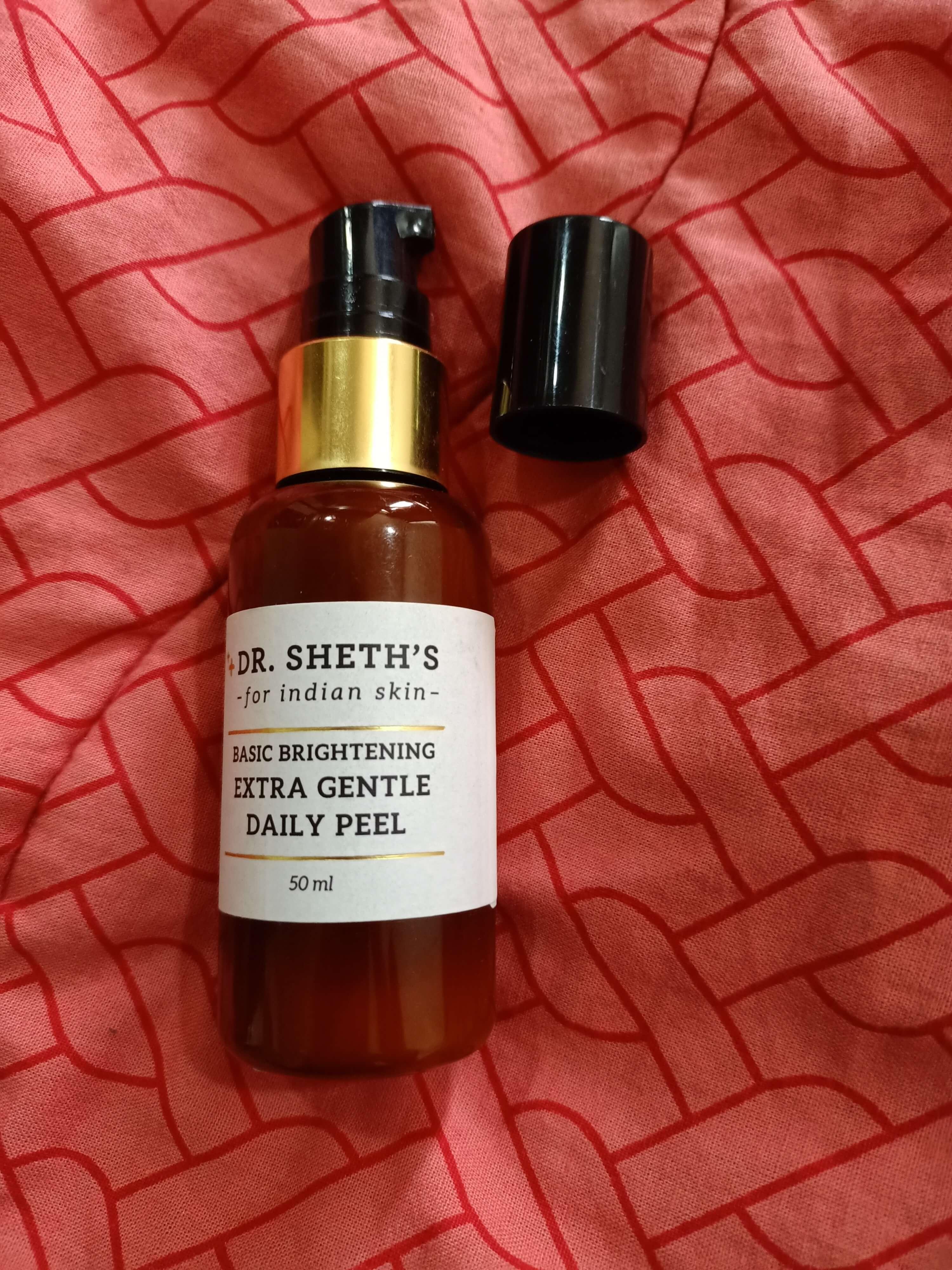 Dr. Sheth's Basic Brightening Extra Gentle Daily Peel pic 1-Dr. Sheth Basic Brightening Extra Gentle Daily Peel- Made for Indians by an Indian.-By avibeeswaxx