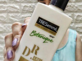 Tresemme Botanique Detox and Restore Conditioner -Best conditioner-By thekaurblog