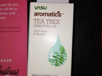 Vasu Aromatics Tea Tree Essential Oil -Pure tea tree essential oil-By nishay