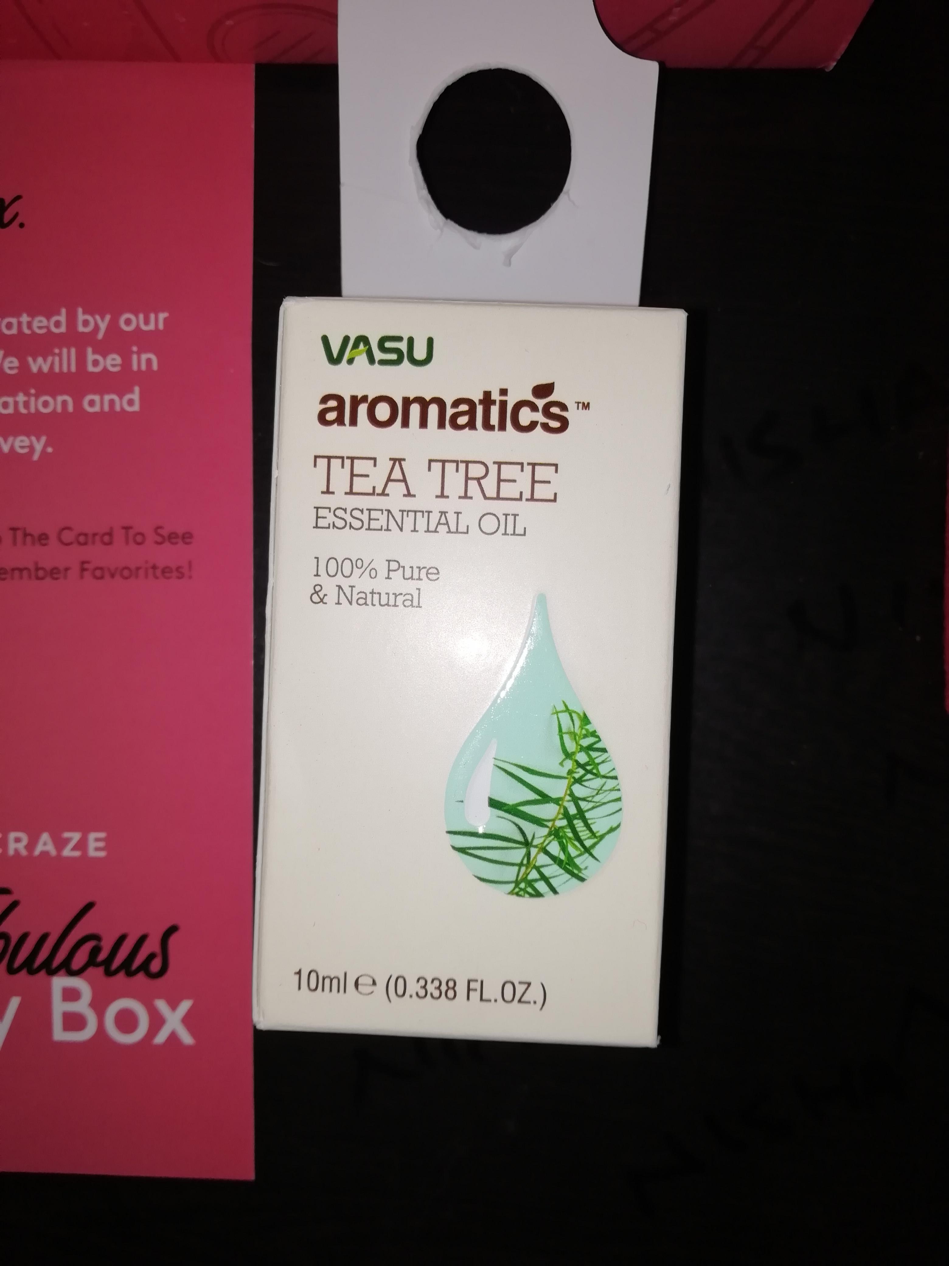Vasu Aromatics Tea Tree Essential Oil-Pure tea tree essential oil-By nishay
