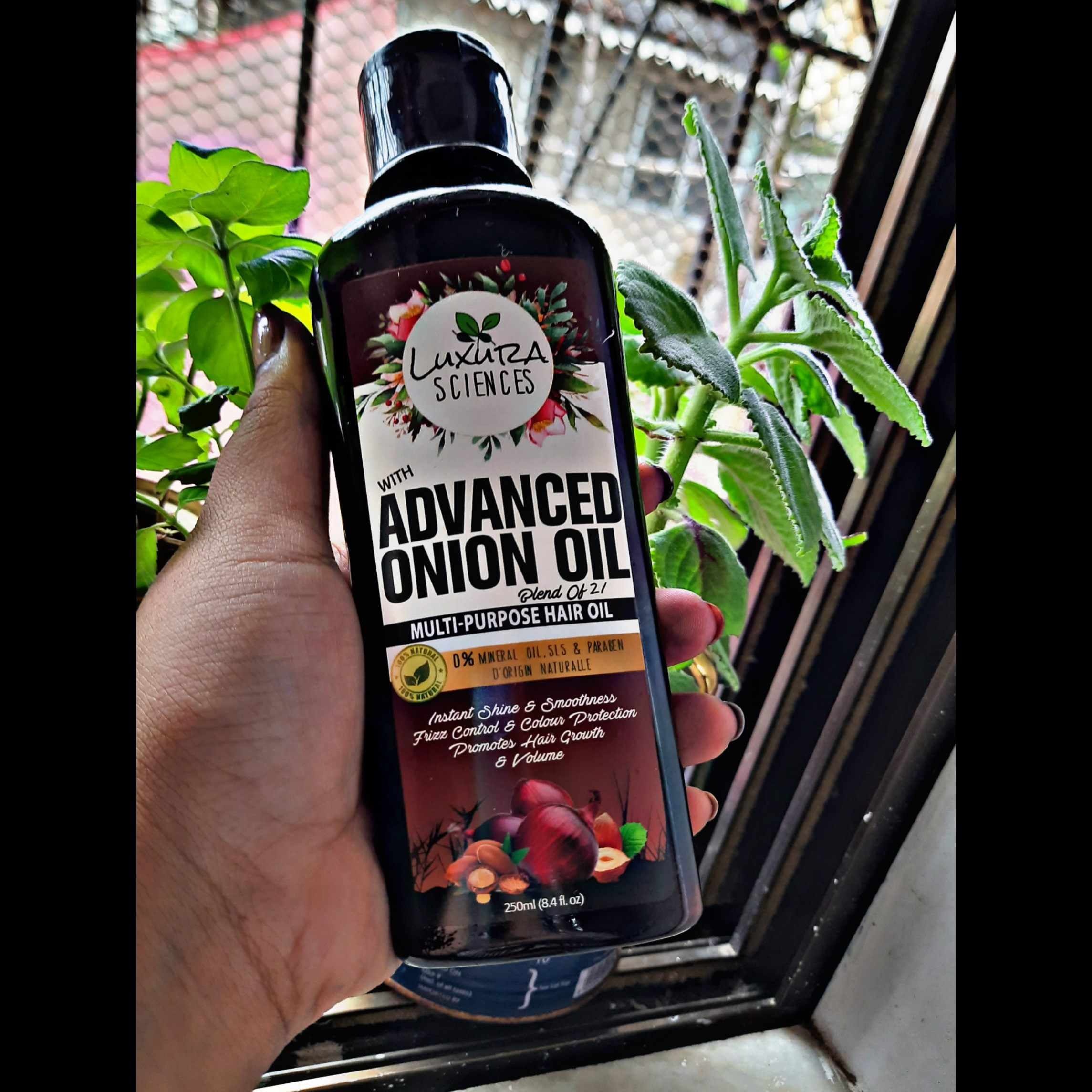 Luxura Sciences Advanced Onion Oil 250 ml-Loved it-By zalak
